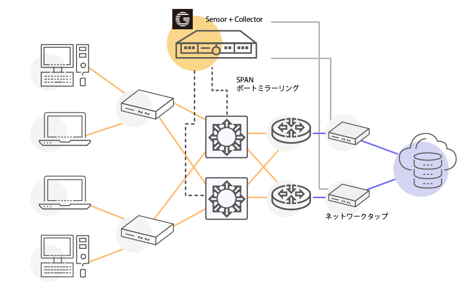 Mendel Analyst ネットワークイメージ